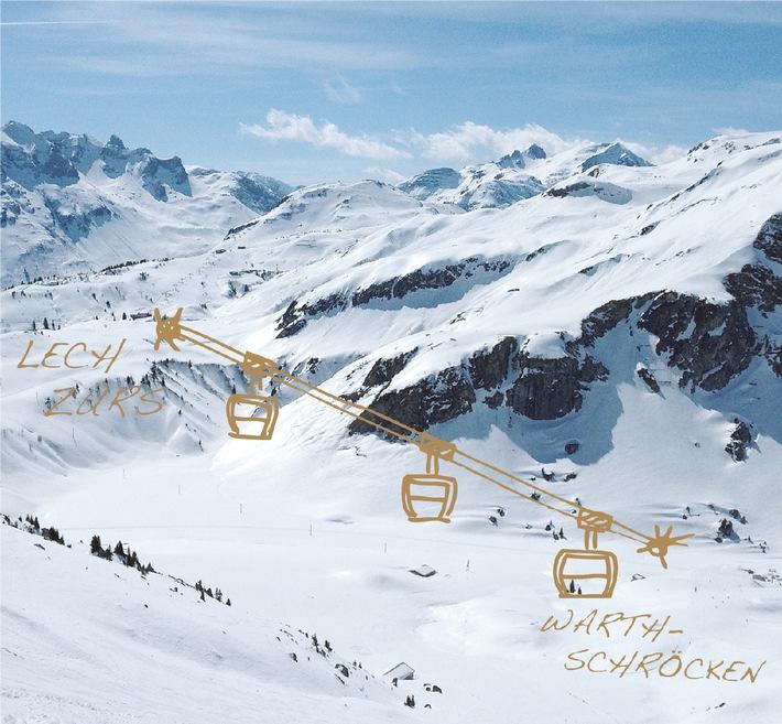 Der Auenfeldjet verbindet ab Dezember 2013 die Skigebiete von Lech Zürs und Warth-Schröcken - ANHÄNGE