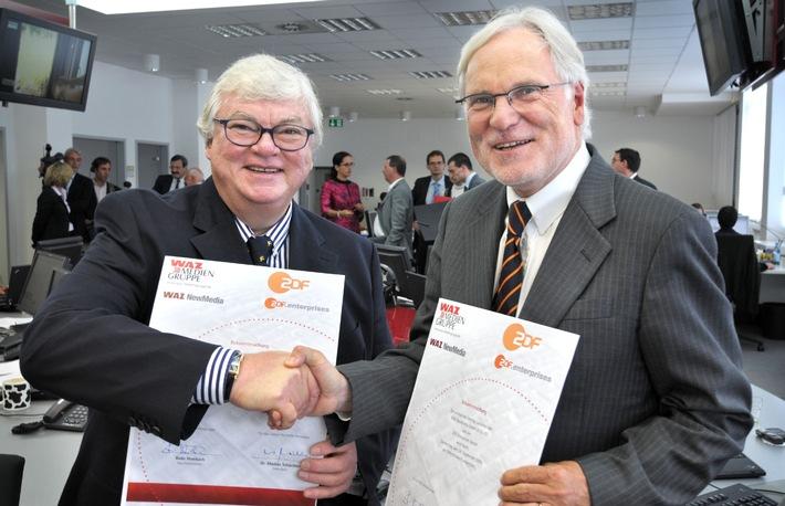 WAZ Mediengruppe und ZDF beschließen Online-Kooperation (mit Bild)