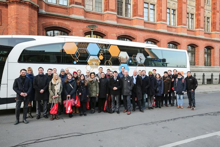 Berliner Startups auf dem Roadtrip zur E-world / Im Gepäck: spannende Geschäftsideen für die Energiewende