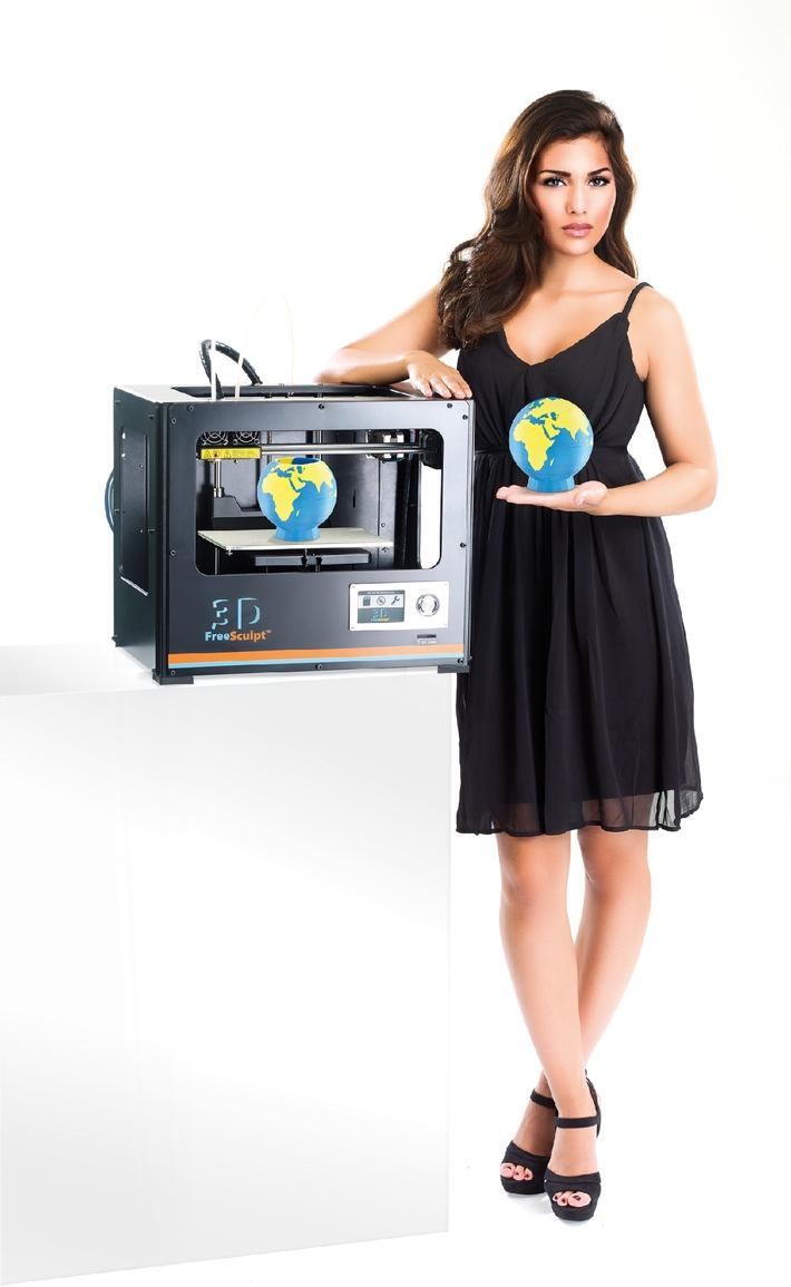 PEARL auf der IFA 2014 / 2-Farben-3D-Drucker und Kamera-Brille mit Bluetooth