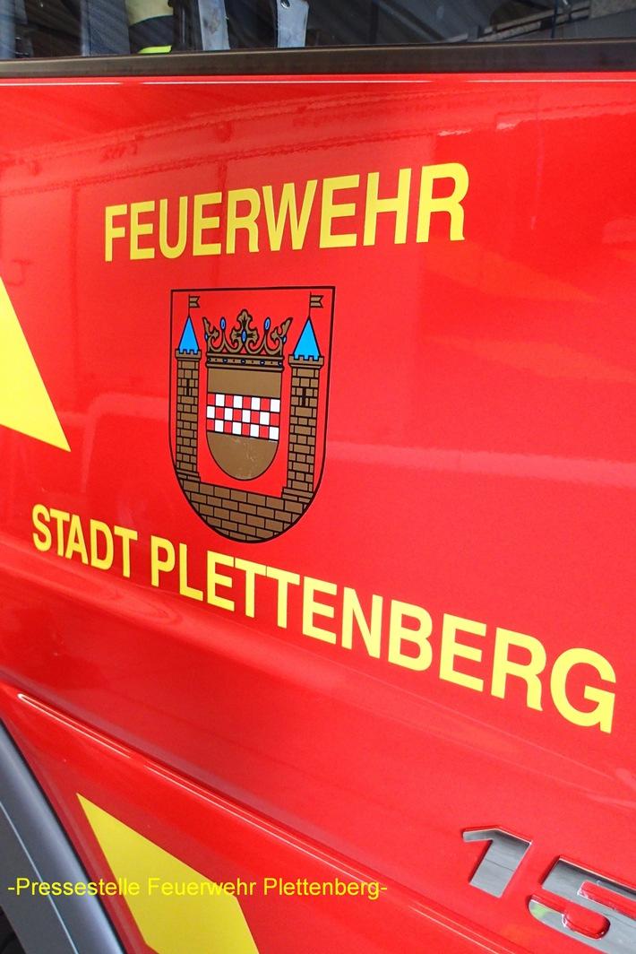 FW-PL: Löschanlage löste in einem Industriebetrieb im OT-Eiringhausen aus
