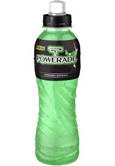 Liefert Power, löscht den Durst - das neue POWERADE Mango Green