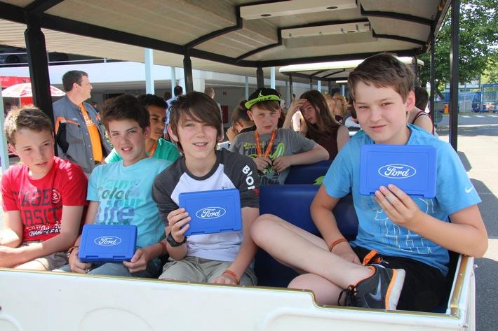 Kinder-Ferienprogramm statt Autos