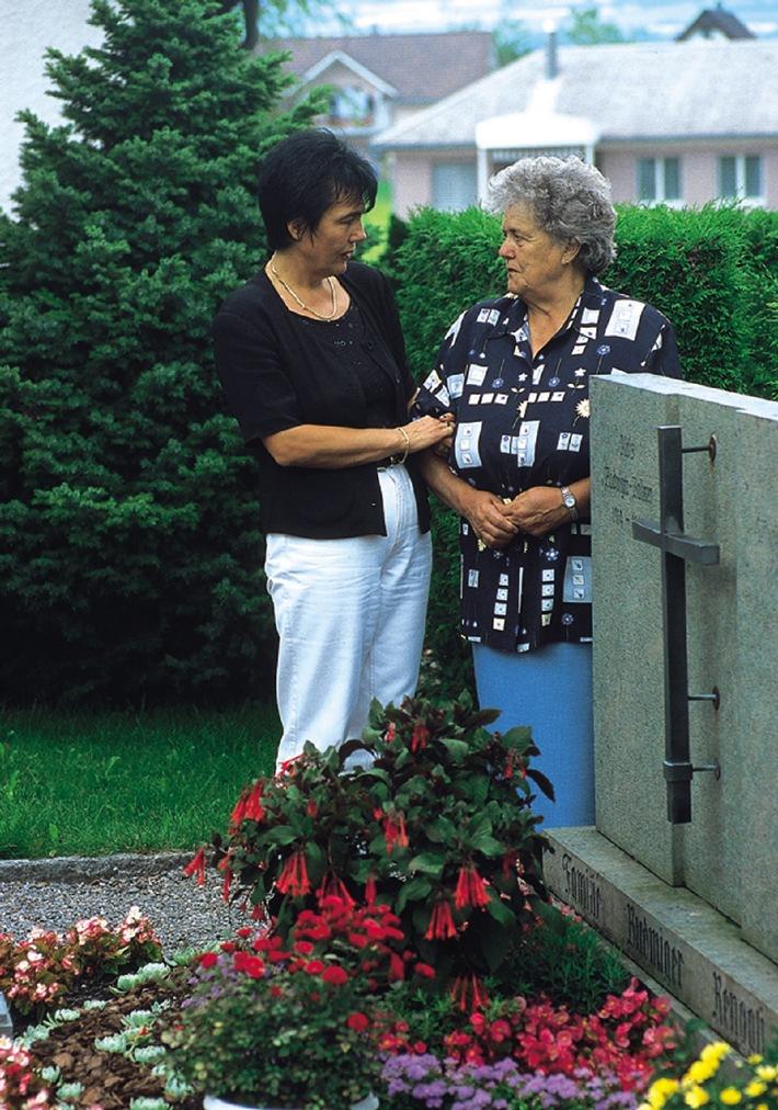 Zu Allerheiligen: Neue Stiftung «Pro Luminate» für individuelle Grabpflege