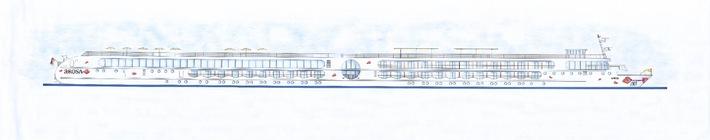 Die A-ROSA AQUA und A-ROSA VIVA kommen ab 2009 auf den Rhein  - A-ROSA Flussschiff GmbH gibt zwei Neubauten in Rostock in Auftrag -