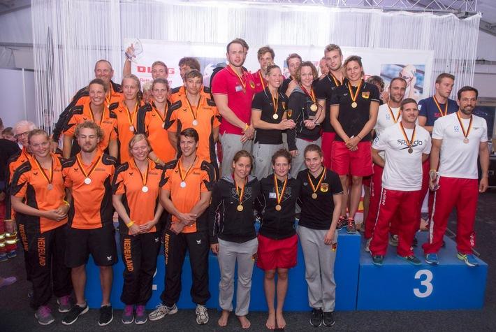 20. Internationaler DLRG Cup / DLRG Nationalmannschaft gewinnt den Wettstreit der Rettungsschwimmer