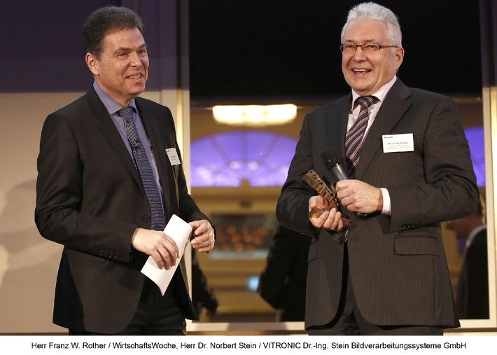 """VITRONIC erhält """"Axia-Award 2013"""" für nachhaltige Unternehmensführung"""