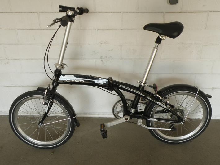 Wer ist der Eigentümer dieses Fahrrades?
