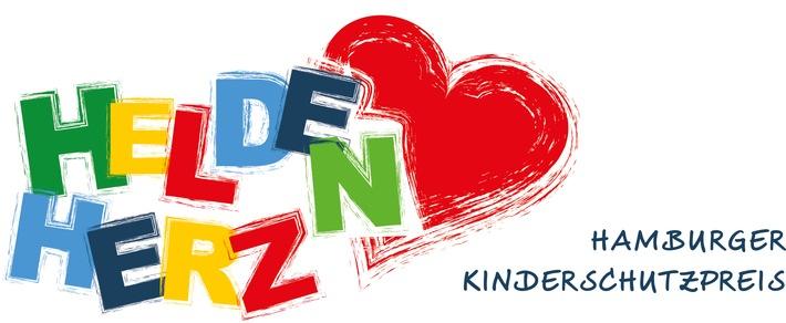 Internationaler Kindertag: HELDENHERZ-Preis für Kinderschutz in Hamburg