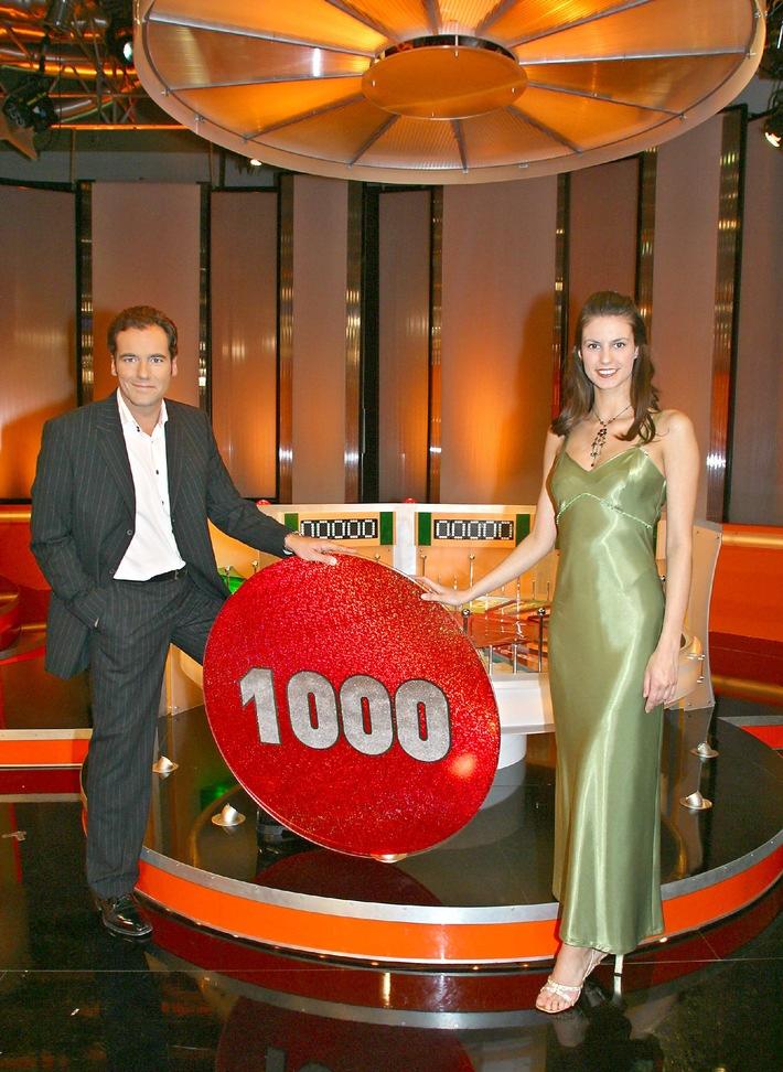"Das ""Glücksrad"" feiert seine 1.000ste Sendung bei Kabel 1!!!"