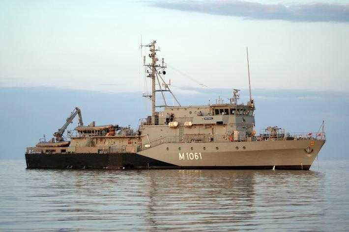 """Marine - Pressemitteilung / Pressetermin: Minentauchereinsatzboot """"Rottweil"""" beteiligt sich an NATO-Verband"""