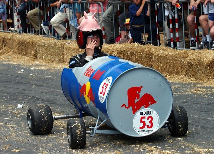 Formel-1-Aspiranten für das 2. Red Bull Caisses à Savon gesucht: