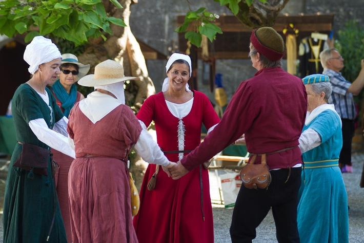 Museum Aargau: Drei Tage Mittelaltermarkt auf der Lenzburg