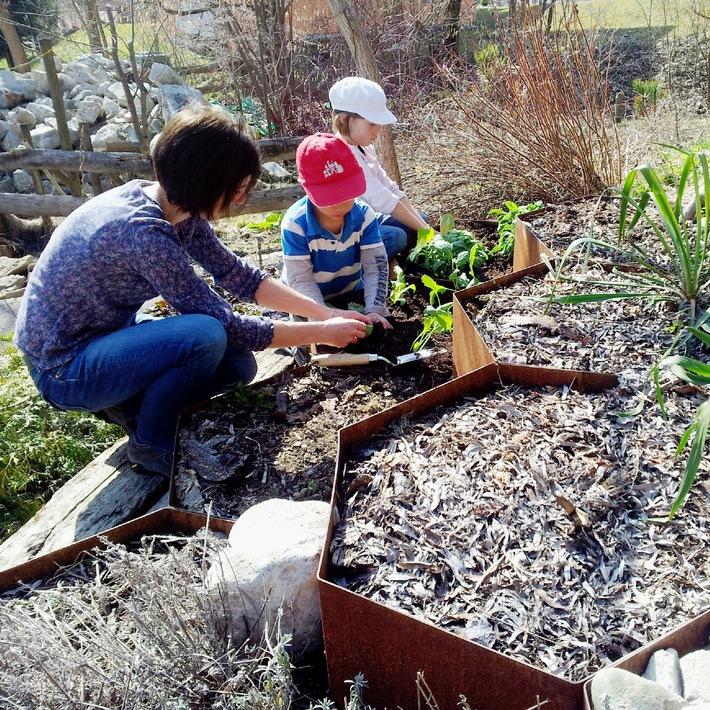 BÖGART -  Neues Gestaltungs-Element für kreative Gärtner