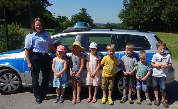 POL-BO: Witten / Toll gemacht! - Taffe Kindergarten-Kids zeigen kriminalistischen Spürsinn