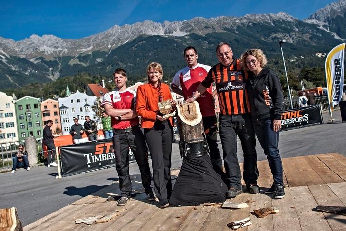 STIHL TIMBERSPORTS(R)-Weltmeisterschaft 2014 in Österreich