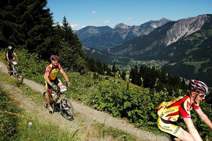 Das Montafon präsentiert sich sportlich: Europatreppe 4000 - Montafoner Treppencup und M3 Montafon Mountainbike Marathon