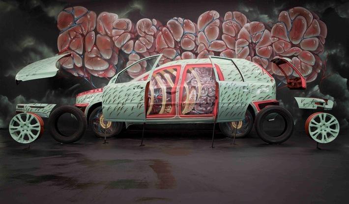 Volvo Art Session 2014 / Den Hauptbahnhof Zürich zum Urban Art Studio umfunktioniert
