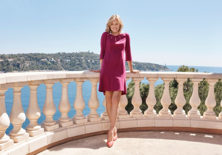 Eva Herzigova - the new face of GERRY WEBER