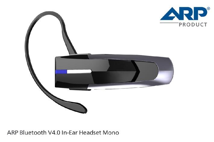 Das neue ARP Bluetooth V4.0 In-Ear Headset - der perfekte Begleiter auf Reisen (BILD)