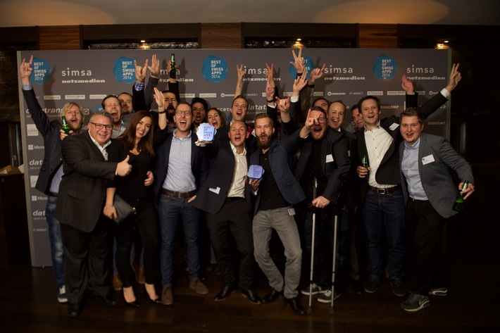 Best of Swiss Apps 2016: « SBB Mobile vNext» ist Master of Swiss Apps!