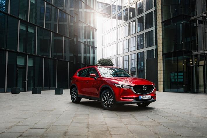Zusätzliche Produktionskapazitäten für den Mazda CX-5 im Werk Hofu