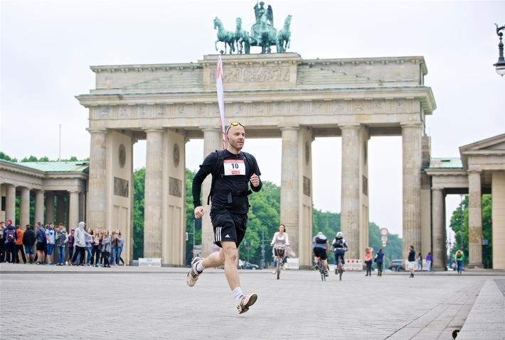 Santander startet Staffellauf quer durch Deutschland