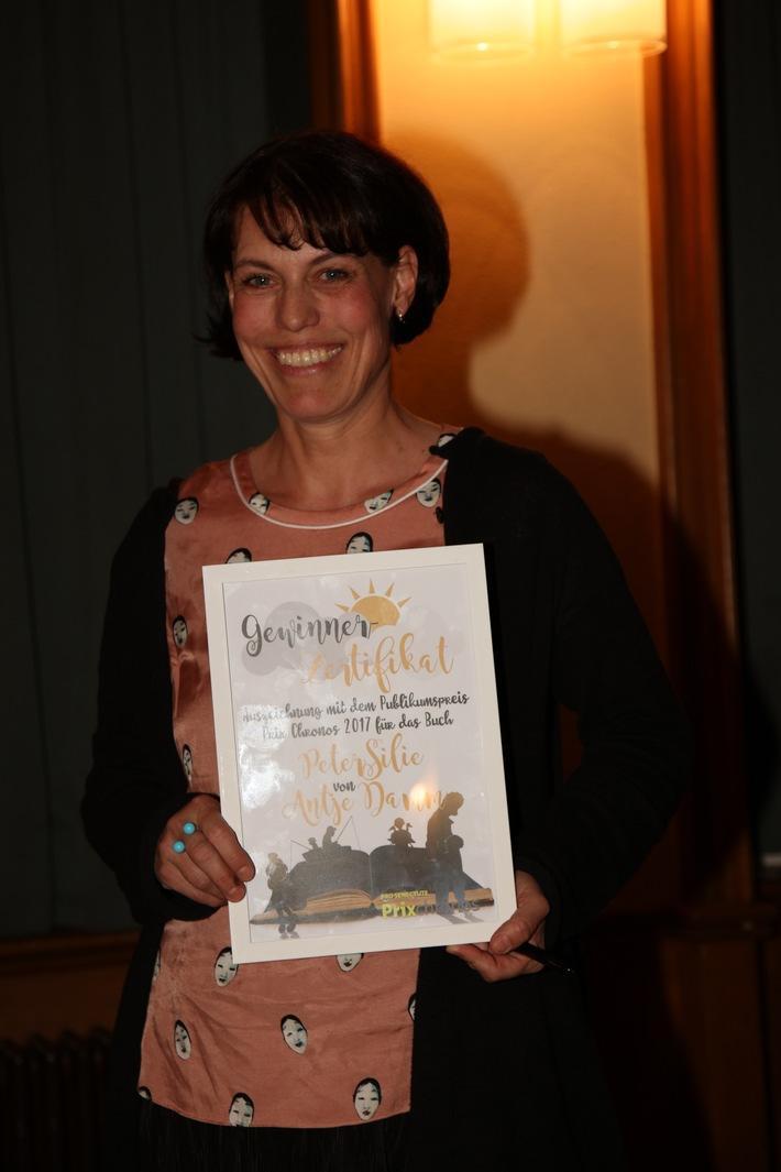 Antje Damm gewinnt Prix Chronos 2017