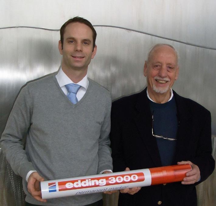 Dauerhaft Geschichte geschrieben: Am 1. April 2010 feiert edding 50-jähriges Jubiläum (mit Bild)