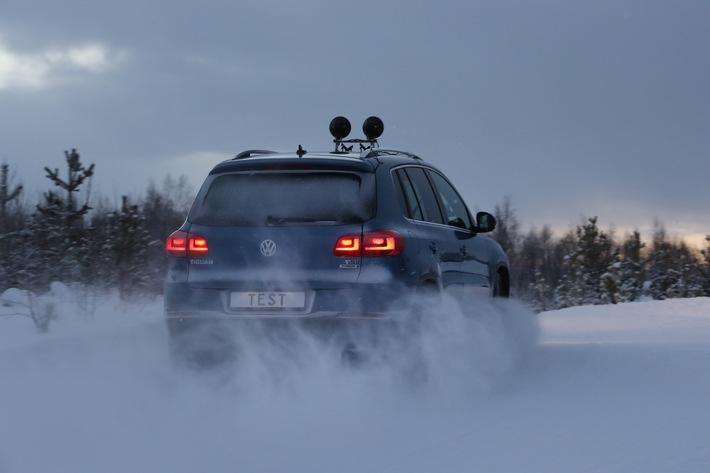 Test TCS de pneus d'hiver 2017: presque tous les pneus sont satisfaisants