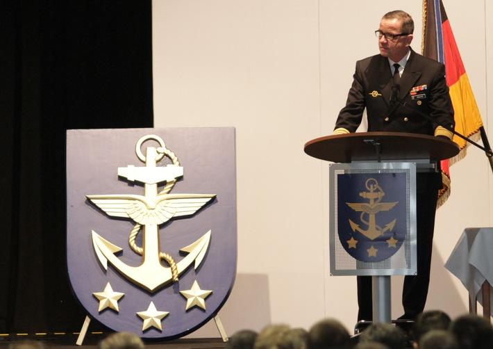 """Marine der Zukunft: Multinational, Kampfstark, Innovativ """"Wilhelmshavener Erklärung"""" des Inspekteurs der Marine"""