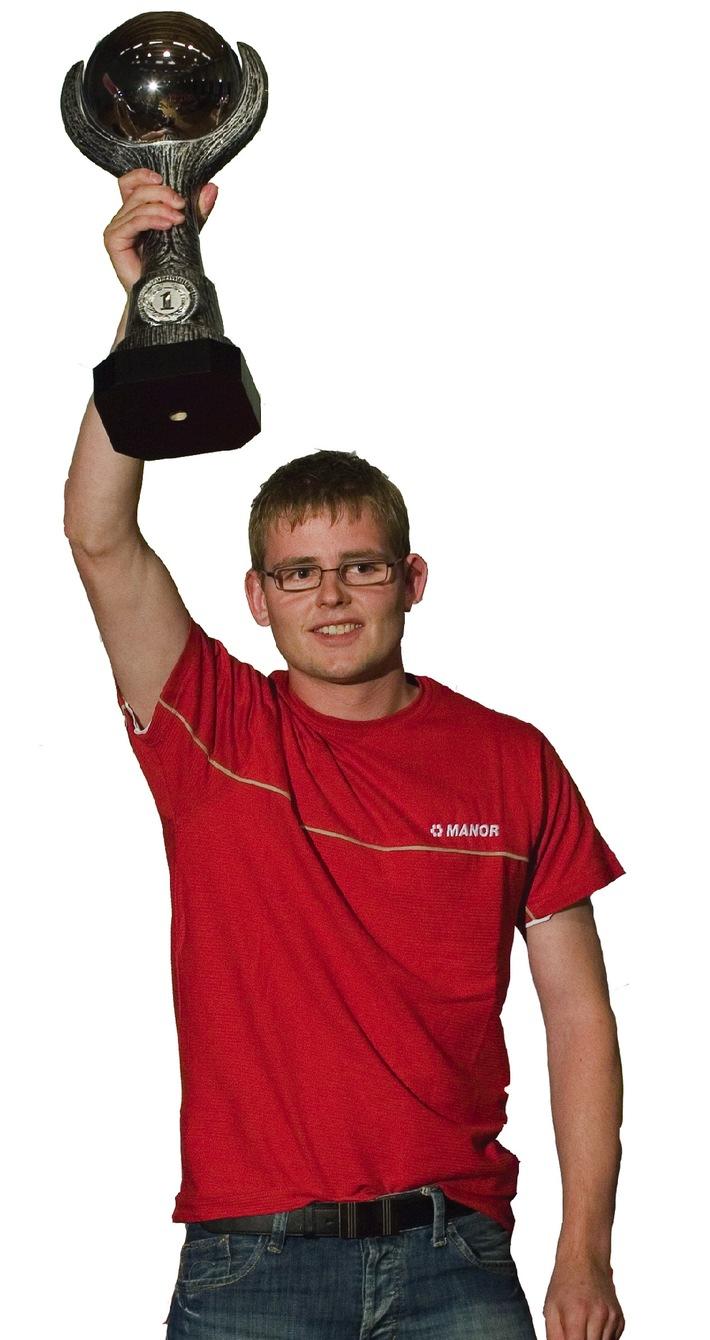 Schweizermeister 2007 der Staplerfahrer erkoren - 8. Nationale Staplerfahrer-Meisterschaft im Fribourg