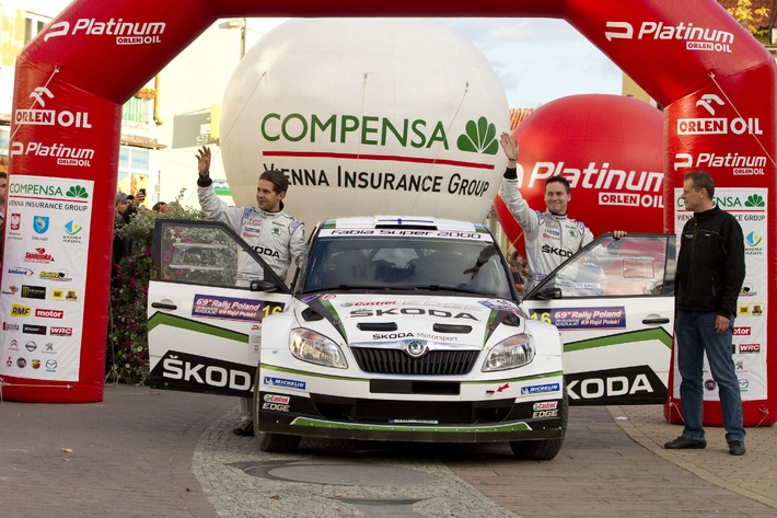 SKODA startet mit Lappi in Monte Carlo