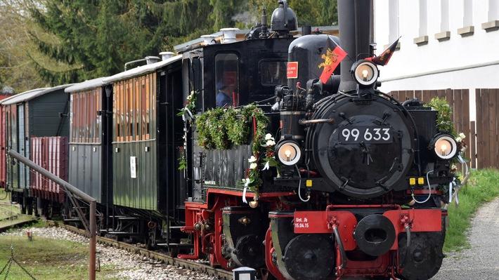 """Jubiläum: """"25 Jahre Eisenbahn-Romantik"""" im SWR Fernsehen / SWR Preview des Jubiläumsfilms am Freitag, 22. Juli, 19:30 Uhr in Blumberg beim Sauschwänzle-Fest"""