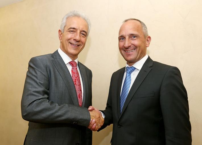 ikr: Regierungschef Adrian Hasler empfängt Sachsens Ministerpräsidenten Stanislaw Tillich in Liechtenstein