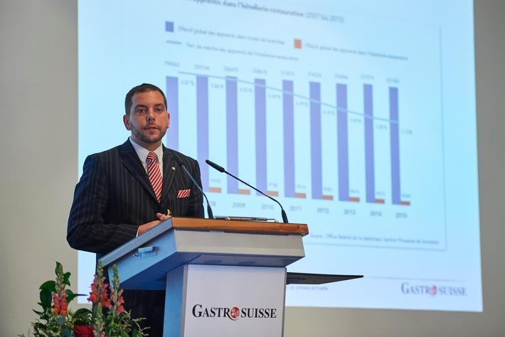 Conférence de presse annuelle GastroSuisse / Hôtellerie-restauration suisse en mutation: Défis et nouvelles chances d'un tournant