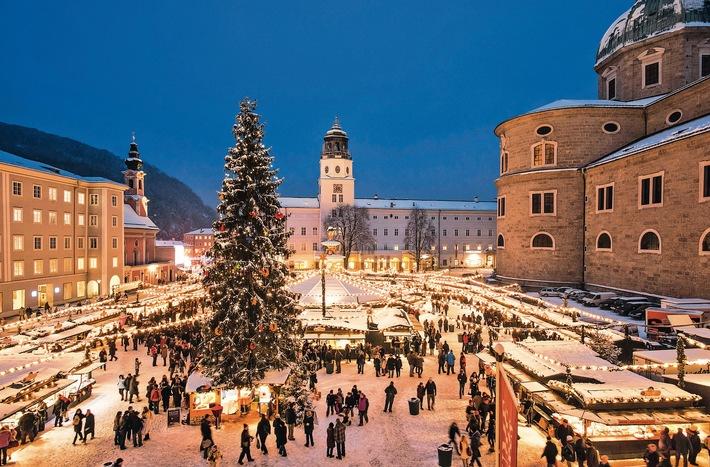 Reiseziel Weihnachtsmarkt - Urlauber buchen vermehrt Kurzurlaube in der Adventszeit / Glühwein und Spekulatius - bei alltours boomen Städtereisen im Advent