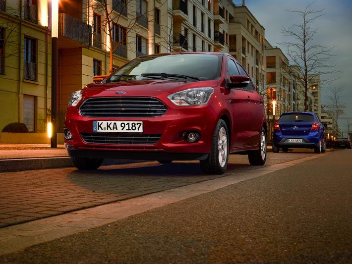 Kleines Auto mit großem Gegenwert: Neuer Ford KA+ glänzt mit Raumangebot, Wirtschaftlichkeit und Fahrspaß