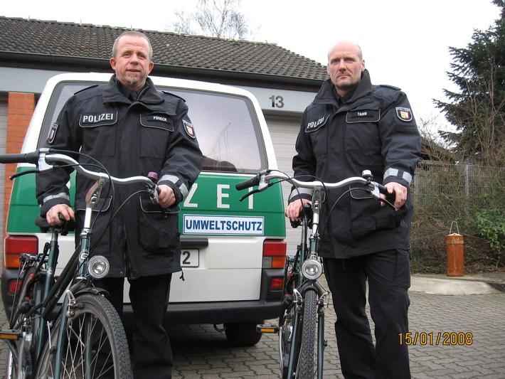 POL-SE: Autofreier Sonntag - Polizei auf Fahrradstreife