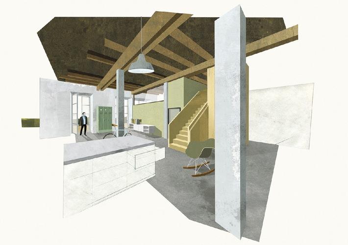 Innenarchitektur Studierende der HSLU entwerfen Spinnerei-Lofts (BILD)