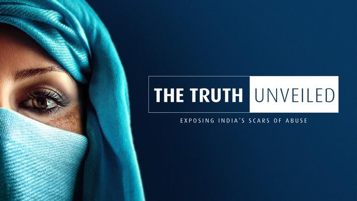 The Truth Unveiled - Serviceplan Health & Life und Serviceplan India mit großer PR-Aktion am Weltfrauentag