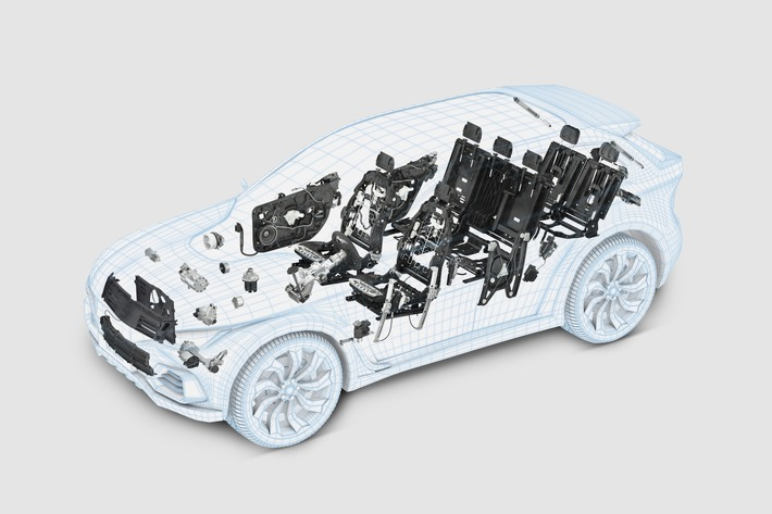 """Press release: IAA 2017: Brose showcases """"Competence in Mechatronics"""" for the vehicles of tomorrow"""