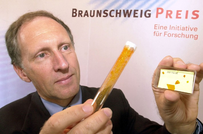 Brunswick Award 2001: Will computer chips be made of organic material in future? / International research team receives an award of DEM 100,000