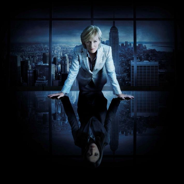 """Echt skrupellos - """"Damages - Im Netz der Macht"""", die Top-Thrillerserie mit Glenn Close ab 28. April 2008 bei kabel eins"""