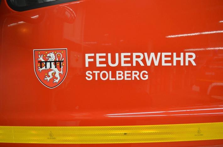 FW-Stolberg: Brand auf Balkon