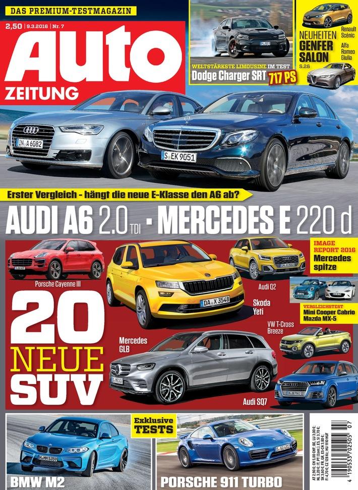 Der Stern strahlt: Mercedes-Benz ist Sieger des Image-Reports 2016 / Leser-Umfrage von AUTO ZEITUNG zeigt aktuelles Stimmungsbild der Automobil-Konsumenten