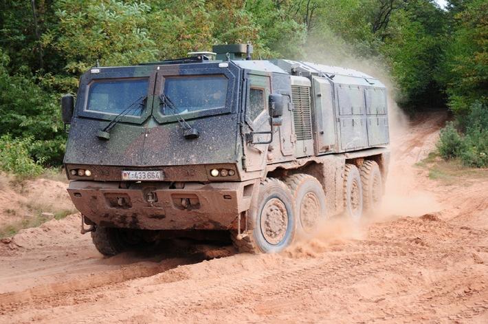 EANS-News: Rheinmetall AG / Rheinmetall und MAN Nutzfahrzeuge gründen gemeinsames Unternehmen für militärische Radfahrzeuge