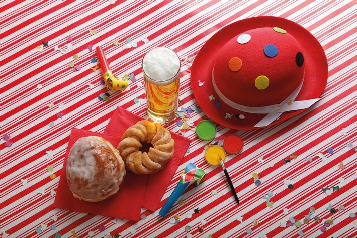 Berliner, Bier und Bussis: Die fünfte Jahreszeit klopft an die Türen / Fastenzeit ist eine Hausforderung für den Säure-Basen-Haushalt des Körpers