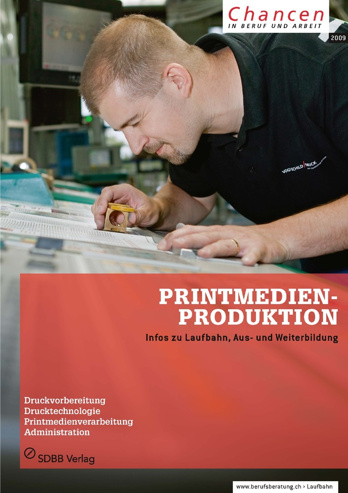 SDBB: «Chancen»-Heft «Printmedienproduktion»