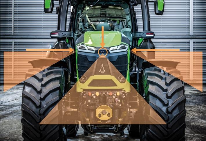 BFFT und SAME DEUTZ-FAHR machen Traktorfahren sicherer / Auszeichnung für innovatives Fahrerassistenzsystem